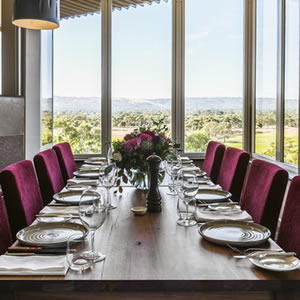 The Private Dining space has stunning views of the evening sunset over Glenelg beach. It is sectioned off from the main restaurant and can be set in a number of configurations, with its own private access and bathrooms.